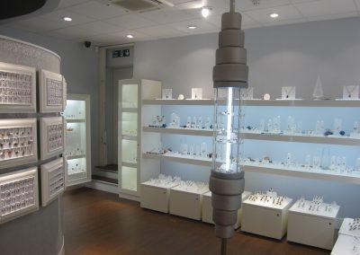 Photo: Framed jewellery wall displays