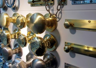 Banham: ironmongery display