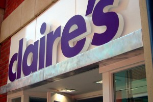 Photo: Claire's Accessories signage