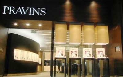 Pravins: jewellery store design
