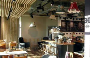 Nice picture of coffee shop