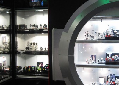 Photo: Display and lighting scheme for Watchshop