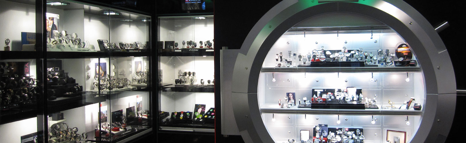 Photo: Retail design for the Watchshop