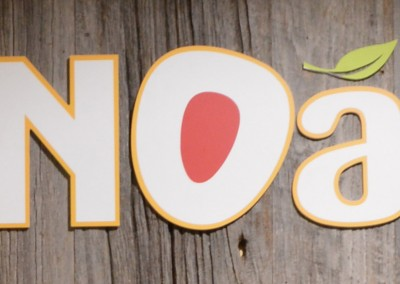 Photo: brand identity for Noa, take away food and cafe