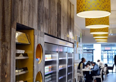 Photo: interior design for Noa café and take away