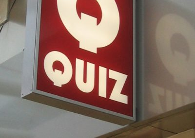 Quiz Clothing: retail branding for Quiz Clothing