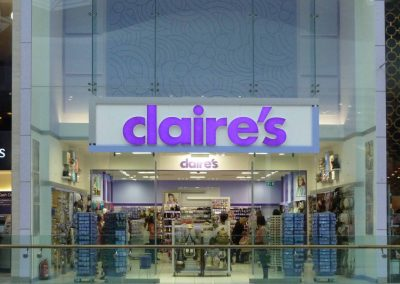 Photo: Claires' accessories exterior