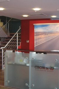 Crown Worldwide: reception design