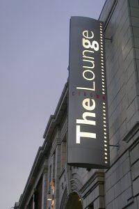 Brand and sign design for arthouse cinema