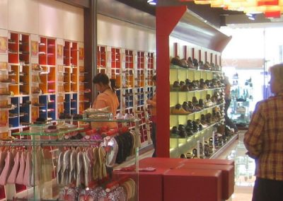 Photo:Shoe shop interior