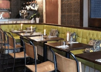 Photo: Restaurant interior with vintage chairs