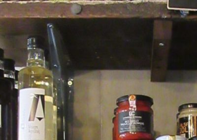 Photo: shelf with condiments