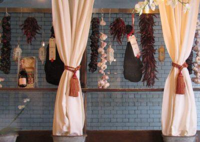 Photo: restuarant window with accessories