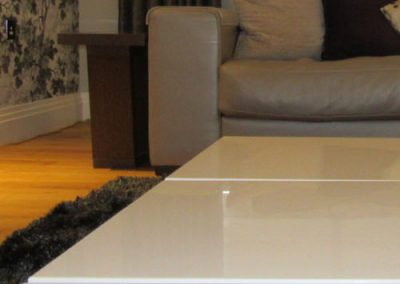 Photo:Sofa and coffee table