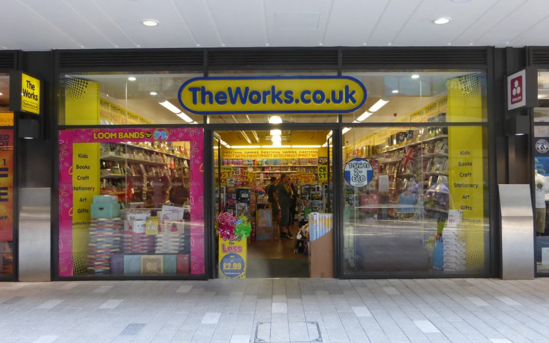 The Works: retail design rollout project supervision