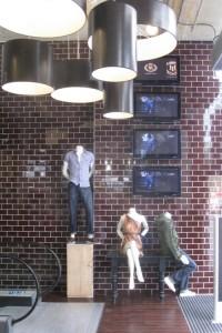 USC entrance wall display