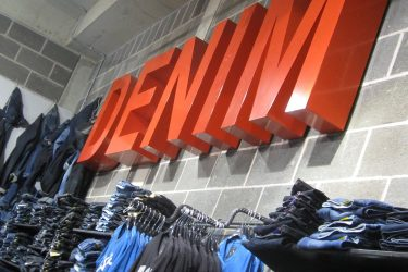 USC denim signs copy