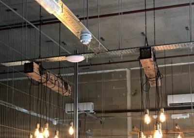 Photo: Ceiling and pendant lights