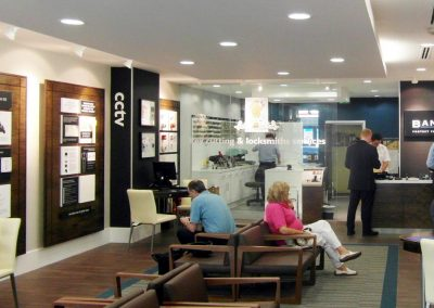 Banham: security showroom