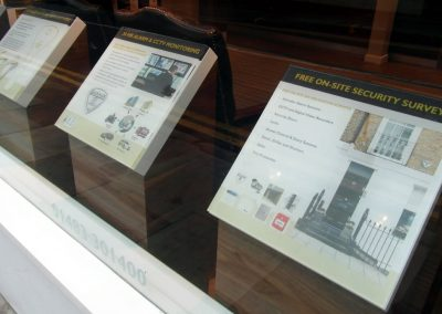 Banham: digital window display units