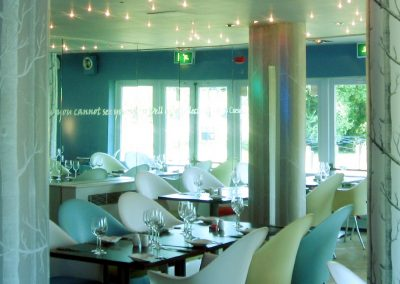 The Riverbank Restaurant interior
