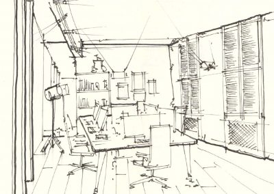 Photo: Sally Green head office design scheme