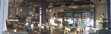 overall view of coffee shop