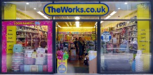 Photo: The Works - retail store rollout design project management