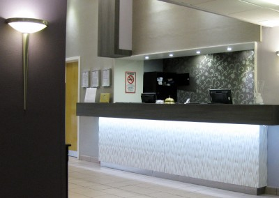 Nottingham Derby Best Western Hotel reception area