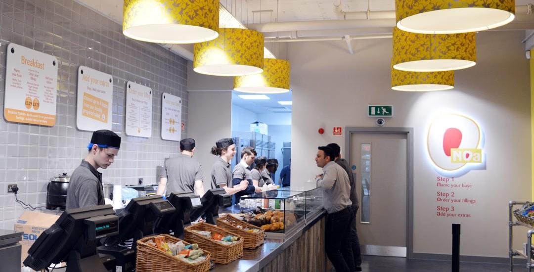 Noa: a fresh design scheme for a food startup