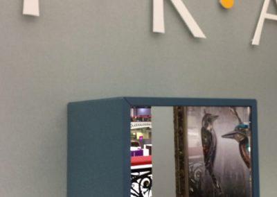 Photo: Mirrored display box