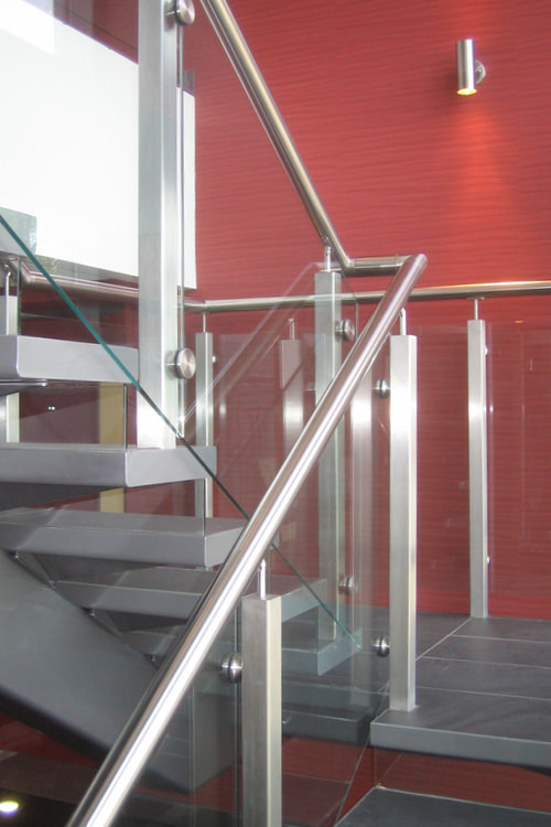 Staircase design for ACG reception area