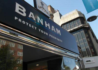 Banham: fascia sign