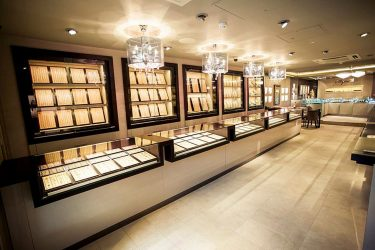 Shyam Jewellers: Counter design