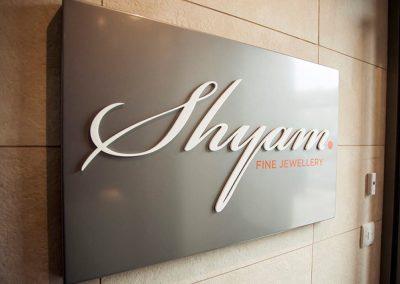 Shyam Jewellery: entrance lobby sign