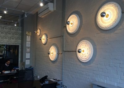 Photo: Customer view of feature lights