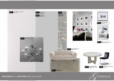 Photo:Images of furniture lights and materials